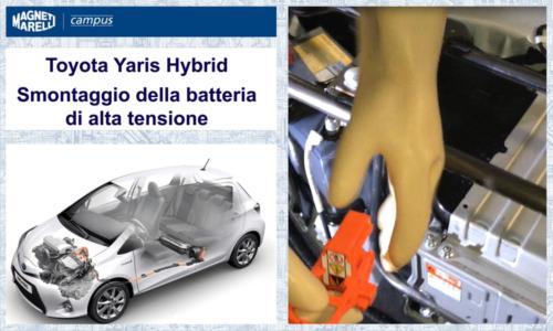 2_Toyota YARIS_COVER_Smontaggio batteria AT